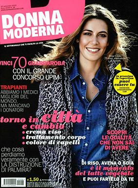 Donna Moderna ITA 2015-9-15 Cover