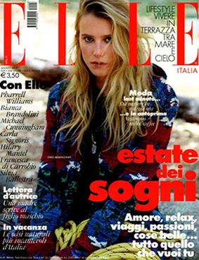 Elle ITA 2014-8-1 Cover