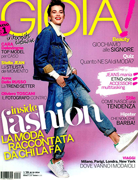 Gioia ITA 2014-10-18 Cover