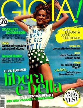 Gioia ITA 2014-8-18 Cover