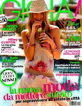 Gioia ITA 2014-8-26 Cover
