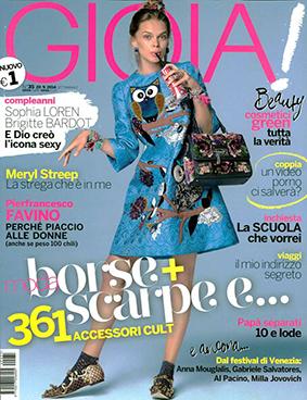 Gioia ITA 2014-9-20 Cover