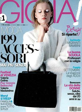 Gioia ITA 2015-9-19 Cover