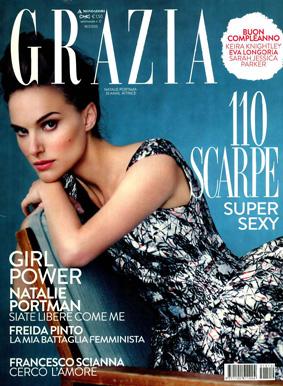 Grazia ITA 2015-3-18 Cover