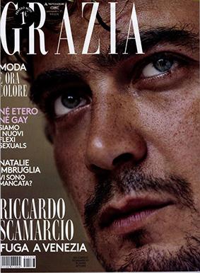 Grazia ITA 2015-9-9 Cover
