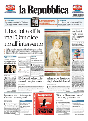 La Repubblica ITA 2015-2-19 Cover