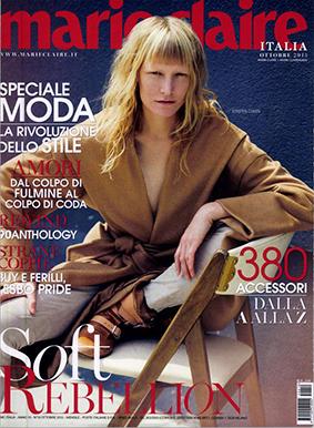 Marie Claire ITA 2015-10-1 Cover
