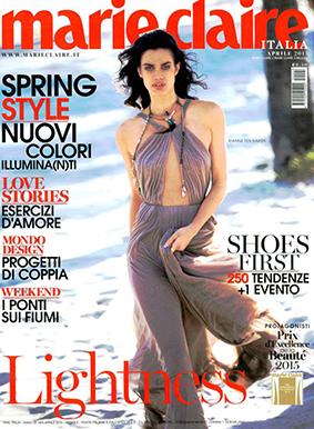 Marie Claire ITA 2015-4-1 Cover